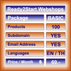 Ready2Start Webshop BASIC