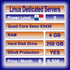 Offshore Dedicated Linux Servers Level 5