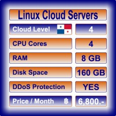 Offshore Linux Cloud Servers Level 4