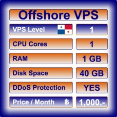 Offshore VPS Level 1