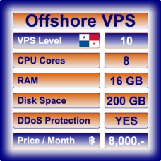 Offshore VPS Level 10