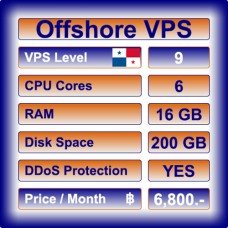 Offshore VPS Level 9