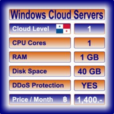 Offshore Windows Cloud Servers Level 1
