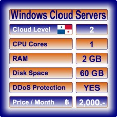Offshore Windows Cloud Servers Level 2