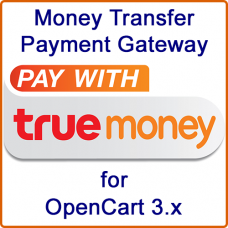 TrueMoney for OpenCart 3.x